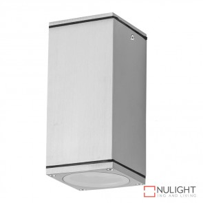 Alpha Sm Rectangular 240V Led Ceiling Light Anodised Finish Body Only DOM