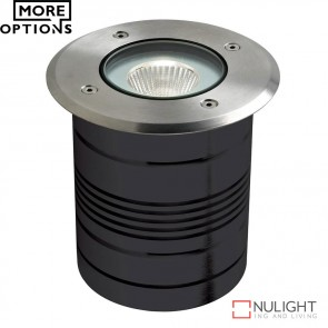 Modula Round 24V 9W Led Inground Light Aluminium Finish Led DOM