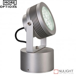 Spot 2 Architectural 240V 9W Led Spotlight Clear Anodised Led DOM
