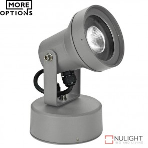 Vision 9 240V 9W Led Spotlight Silver Led DOM