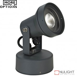 Vision 9 240V 9W Led Spotlight Dark Grey Led DOM