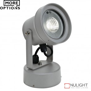 Vision 12 240V 12W Led Spotlight Silver Led DOM