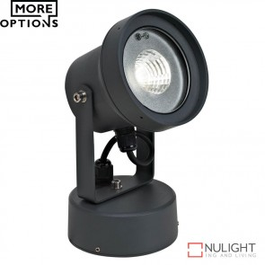 Vision 12 240V 12W Led Spotlight Dark Grey Led DOM
