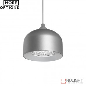 Pandora 7W Led Dome Pendant Natural Anodised Finish Led DOM