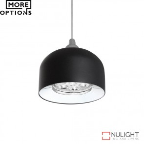 Pandora 7W Led Dome Pendant Matt Black Finish Led DOM