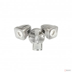 Viper 2 Light Led Spotlight With Sensor - Satin Nickel BRI