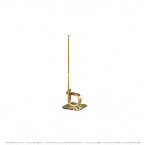 Minimalist Linear Table Lamp Gold Citilux