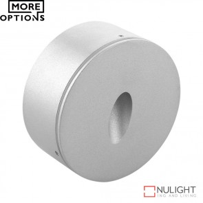 Me Round Surface Mounted 3W Led Steplight Aluminium Finish Led DOM