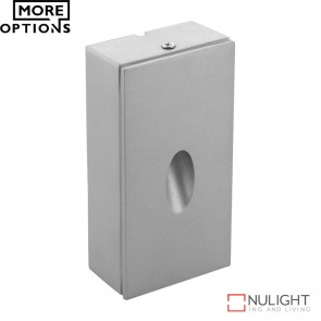 Me Square Sm Surface Mounted 3W Led Steplight Aluminium Finish Led DOM