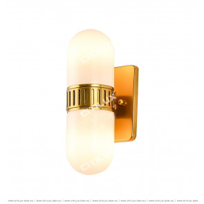 Copper Capsule Wall Lamp Citilux