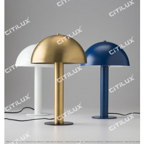 Hat Simple Table Lamp Copper / White / Blue Citilux