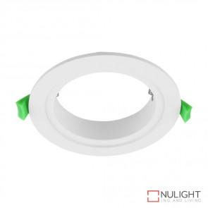 Adaptor Plate To Suit Deco 13 Led Downlight Satin White DOM