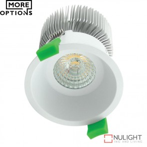 Deep 75 Round 10W Deepset Led Downlight White Frame Led DOM
