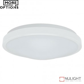 Ora 300 Round 15W Dimmable Led Ceiling Light White Metal Trim Led DOM
