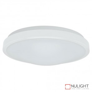 Ora 350 Round 25W Dimmable Led Ceiling Light White Metal Trim White Led DOM