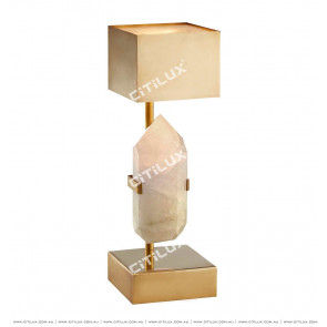 Full Copper Spanish Marble Table Lamp Citilux