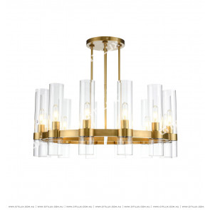 Modern Copper Ceiling Lamp Citilux