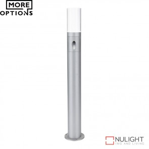 Led 520 Round 1224V 4W Led Garden Post Light Aluminium Finish Led DOM
