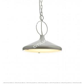 Single Head High Gray Chandelier / Bar Light Citilux