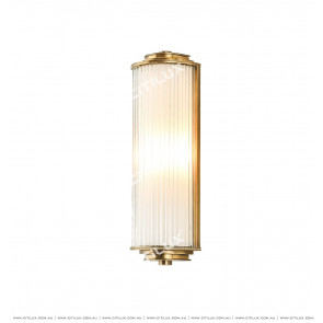 American Semi-Cylindrical Glass Wall Lamp Citilux