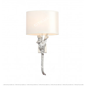 Copper Tree Wall Lamp Silver Citilux