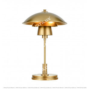 All-Copper American Three-Tier Disc Superimposed Table Lamp Citilux