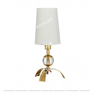 Full Copper Tripod Mini Table Lamp Citilux