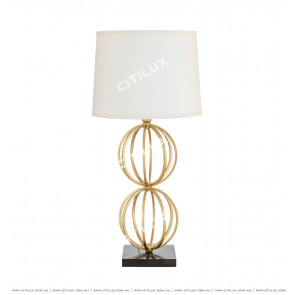 American Copper Wire Ball Combination Table Lamp Citilux