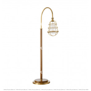 American Copper Imitation Shield Floor Lamp Citilux