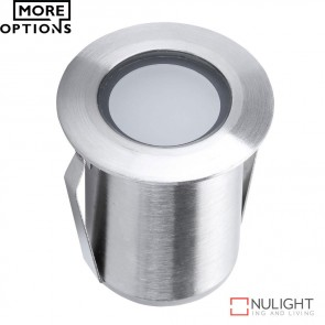 Point 1 Miniature 1224V 1W Led Inground Light Stainless Steel Finish Led DOM