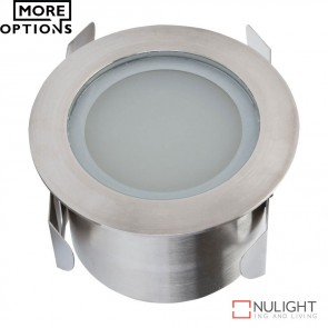 Twilite 1224V 3W Led Inground Light Stainless Steel Finish Led DOM