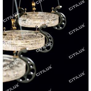 Modern Simple European Round Ice Tray Bar Chandelier Citilux