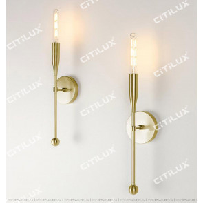 Pre-Sold Minimalist Metal Single Head Wall Light Citilux