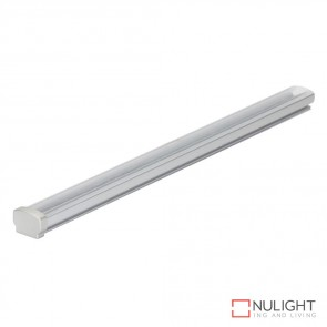 Opti Line Sm Surface Led Profile Natural Clear Anodised Finish Clear Diffuser DOM