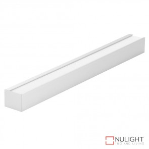 Luma Line Wall Mounted Led Profile Natural Clear Anodised Finish DOM
