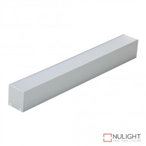 Omega 35 Sm Surface Suspended Led Profile Natural Clear Anodised Finish DOM