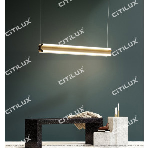 Minimalist Four-Sided Light Source Dining Table / Office Chandelier Citilux