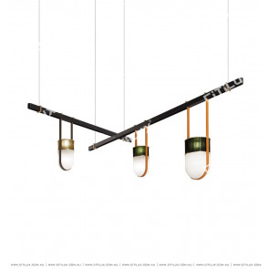 Glass Bullet Dining Chandelier Citilux
