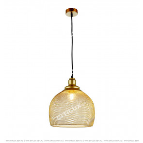 Metal Mesh Woven Chandelier Short Citilux