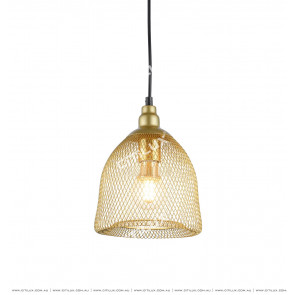 Metal Mesh Woven Chandelier Medium Citilux
