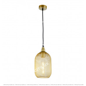Metal Mesh Woven Chandelier Long Citilux