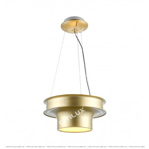 Metallic Disc Chandelier Citilux