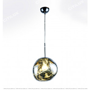 Symphony High-Grade Gray Glass Chandelier Citilux