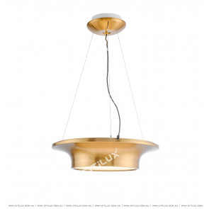 Metallic Disc Hat Shape Chandelier Citilux