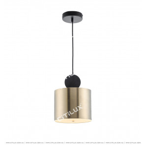 Minimal Geometry Combination Single Head Chandelier Large Citilux