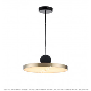 Minimal Geometric Combination Disc Chandelier Citilux
