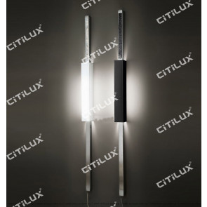 Long Strip Black And White Combination Long Wall Lamp Citilux