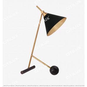 American Copper Black + Copper Dimension Cover Table Lamp Citilux