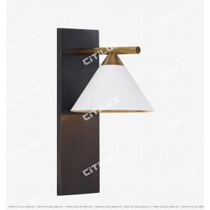 American Copper White + Copper Dimension Cover Single Head Wall Lamp Citilux