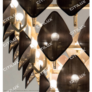 Modern Diamond-Shaped Hood Multi-Tier Chandelier Citilux